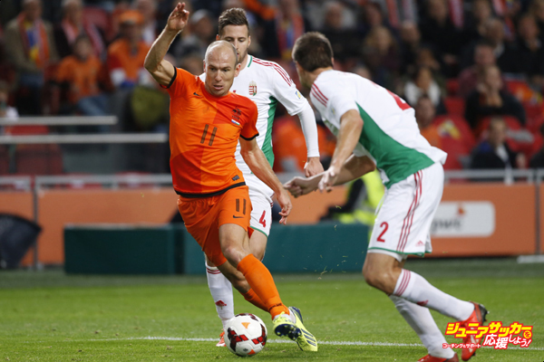 FIFA 2014 World Cup Qualifier - Netherlands v Hungary