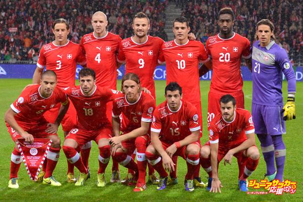 Switzerland v Slovenia - FIFA 2014 World Cup Qualifier