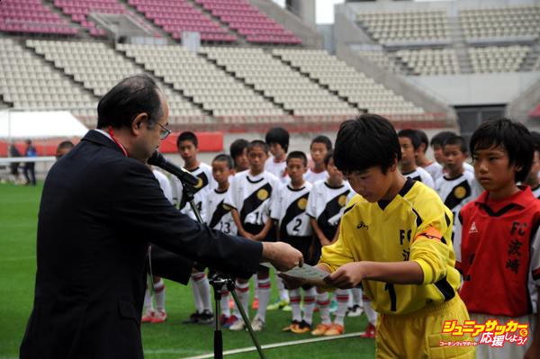 表彰ー第4位・波崎FC