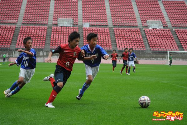 第1試合ーアントラーズジュニア対FC波崎①
