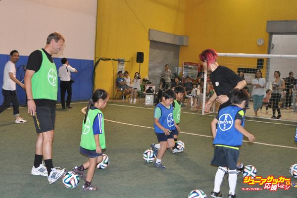 バイエルサッカー教室②