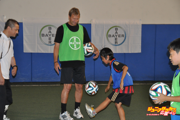 バイエルサッカー教室①