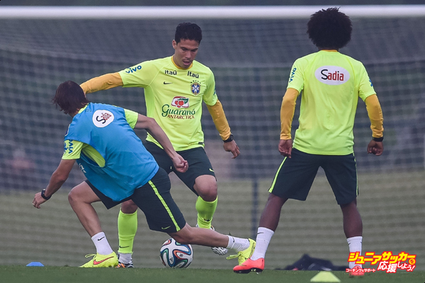 Brazil Training Session - 2014 FIFA World Cup