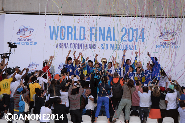 Danone Nations Cup 2014 - Ceremony Prize