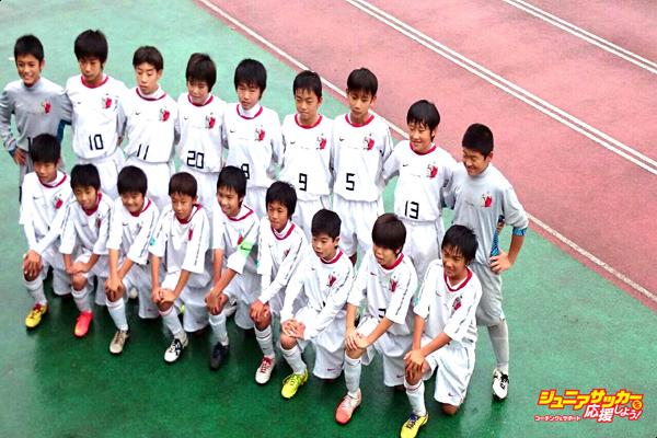 第41回茨城県学年別少年サッカー大会鹿島Jr優勝③