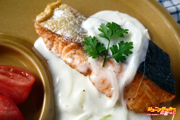 鮭クリームソースのコピー
