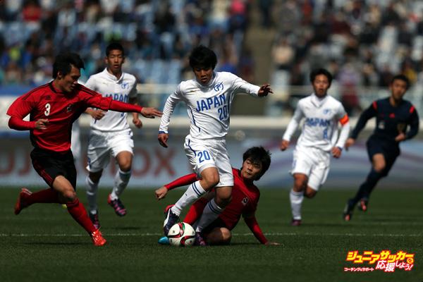 U-18 J.League XI v Japan High School XI - Next Generation Math