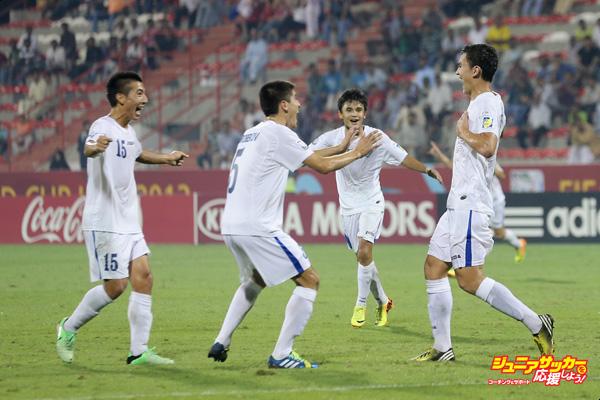 Panama v Uzbekistan: Group C - FIFA U-17 World Cup UAE 2013