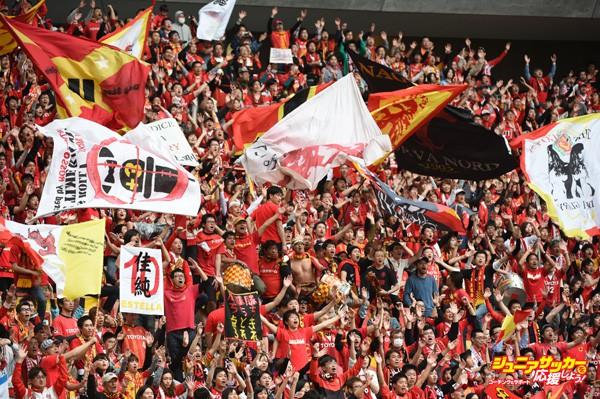 Nagoya Grampus v Sanfrecce Hiroshima - J.League