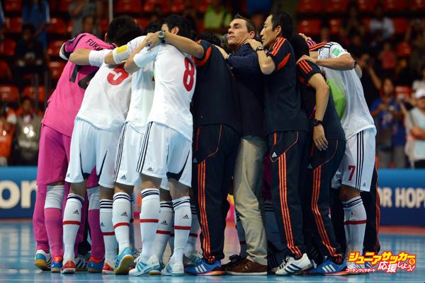 Ukraine v Japan: Round of 16 - FIFA Futsal World Cup Thailand 2012