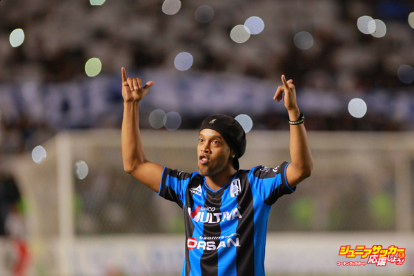 Ronaldinho in Queretaro