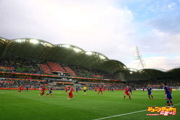 MELBOURNE, AUSTRALIA - JANUARY 20: A general view during the 2015 Asian Cup match between Japan and Jordan at AAMI Park on January 20, 2015 in Melbourne, Australia.  (Photo by Robert Cianflone/Getty Images)
