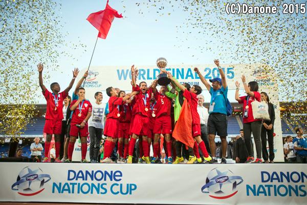 優勝モロッコ