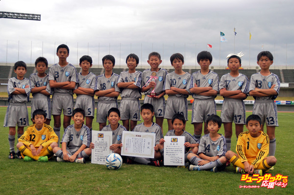 3位 スクエア富山FC U-12Aのコピー