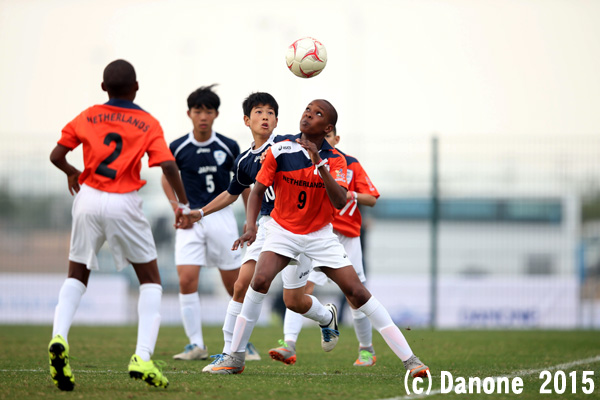 DNC 2015 - Qualifying matches - Day 2 - Netherlands vs Japan