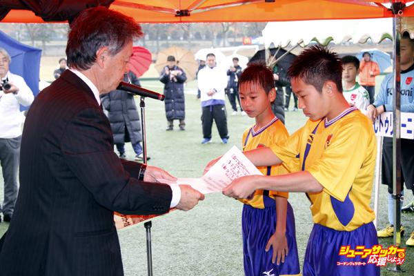 表彰優勝JEF八戸FC