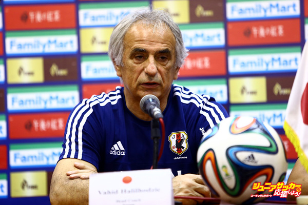 TEHRAN, IRAN - SEPTEMBER 07:  Coach Vahid Halihodzic of Japan is seen during press conference ahead of the 2018 FIFA World Cup Russia qualifier against Afghanistan at Azadi Stadium on September 7, 2015 in Tehran, Iran.  (Photo by Amin M. Jamali/Getty Images)