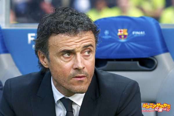 coach Luis Enrique of FC Barcelona during the UEFA Champions League  final match between Barcelona and Juventus on June 6, 2015 at the Olympic stadium in Berlin, Germany.(Photo by VI Images via Getty Images)