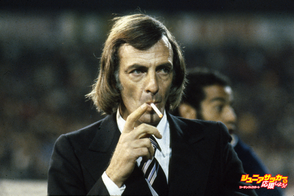 Sport. Football. pic: circa 1980. Cesar Luis Menotti, Argentina Coach, who led Argentina to victory in the 1978 World Cup.