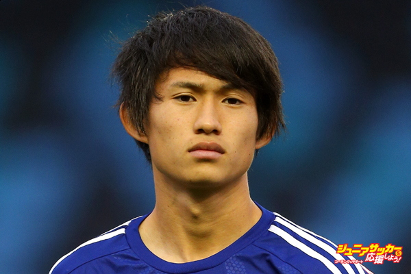 MANCHESTER, ENGLAND - NOVEMBER 15: Koki Sugimori of Japan during the U19 International friendly match between England and Japan at Manchester City Academy Stadium on November 15, 2015 in Manchester, England. (Photo by Dave Thompson/Getty Images)
