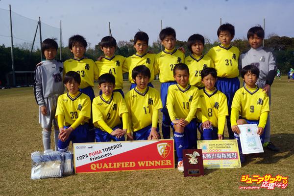 江南南サッカー少年団のコピー
