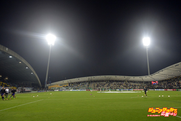 MARIBOR,SLOVENIA - SEPTEMBER 17:  A general view of the NK Maribor's stadium before the UEFA Group G Champions League football match between NK Maribor and Sporting Lisbon at the Ljudski vrt Stadium on September 17, 2014 in Maribor, Slovenia. (Photo by Samuel Kubani/EuroFootball/Getty Images)