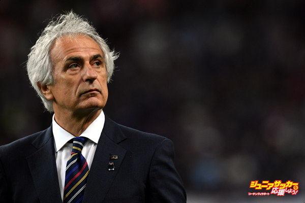 TOYOTA, JAPAN - JUNE 03:  Vahid Halilhodzic,coach of Japan looks on after the international friendly match between Japan and Bulgaria at the Toyota Stadium on June 3, 2016 in Toyota, Aichi, Japan.  (Photo by Masashi Hara/Getty Images)