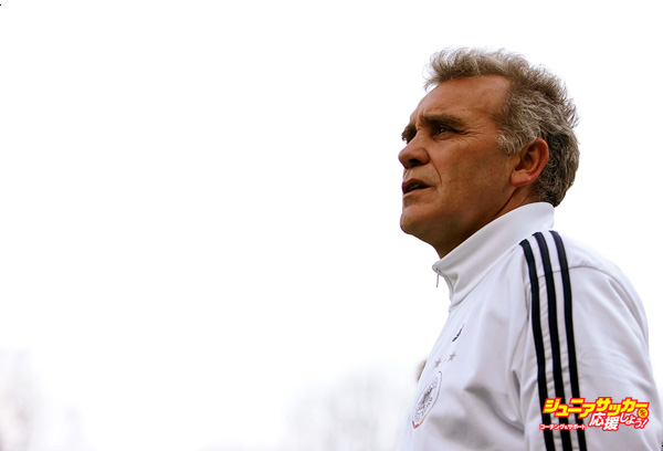 GEMERT, NETHERLANDS - MARCH 26:  Coach Bernd Stoeber of Germany looks on during the Men's Under 17 European Championship qualifier match between Germany and Netherlands on March 26, 2006 in Gemert near Ijmuiden, Netherlands.   (Photo by Vladimir Rys/Bongarts/Getty Images)