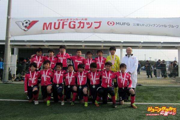 10thMUFG大阪_準優勝:セレッソ大阪U-12のコピー