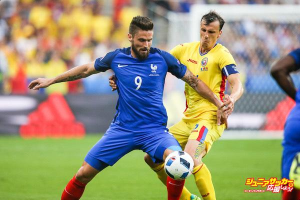 "Euro - ""France v Romania"""