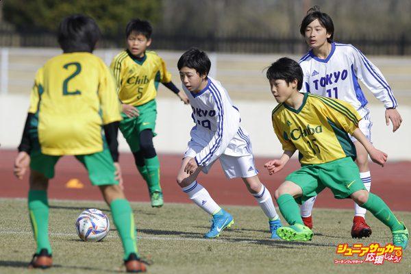 千葉県トレセン(ホワイト)-東京都選抜U-12ブルー