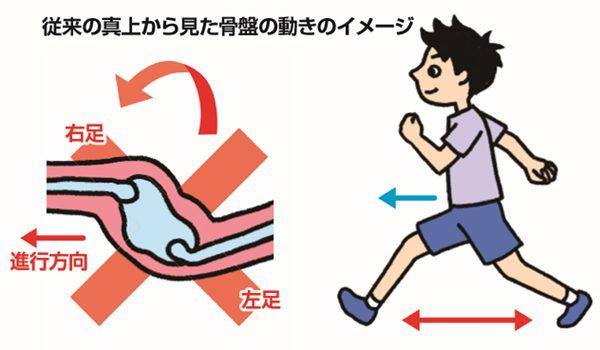 骨盤(走り方)