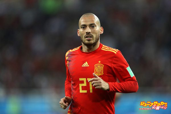 KALININGRAD, RUSSIA - JUNE 25:  David Silva of Spain during the 2018 FIFA World Cup Russia group B match between Spain and Morocco at Kaliningrad Stadium on June 25, 2018 in Kaliningrad, Russia.  (Photo by Francois Nel/Getty Images)