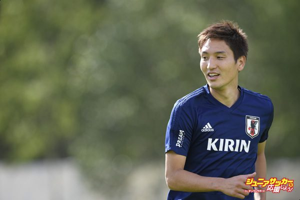 SEEFELD, AUSTRIA - JUNE 05: Genki Haraguchi of Japan looks on during a training session on June 5, 2018 in Seefeld, Austria.  (Photo by Masahiro Ura/Getty Images)