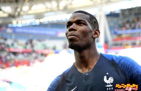 KAZAN, RUSSIA - JUNE 16:  Paul Pogba of France looks on after the 2018 FIFA World Cup Russia group C match between France and Australia at Kazan Arena on June 16, 2018 in Kazan, Russia.  (Photo by Michael Regan - FIFA/FIFA via Getty Images)