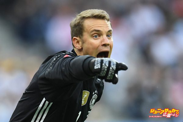 PARIS, FRANCE - JUNE 16:  Manuel Neuer of Germany in action during the UEFA EURO 2016 Group C match between Germany and Poland at Stade de France on June 16, 2016 in Paris, France.  (Photo by Matthias Hangst/Getty Images)