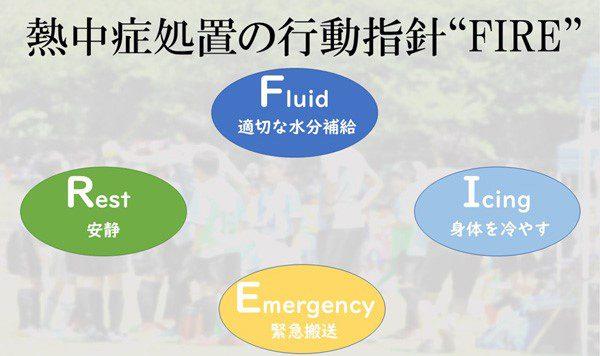 熱中症の図