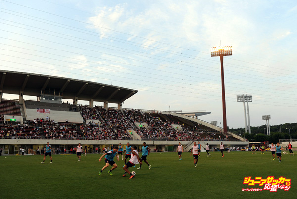 Arsenal FC Training Session in Japan