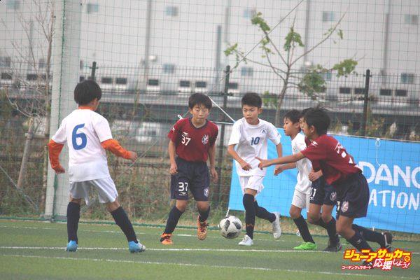 本大会出場決定戦_ファジアーノ岡山U-12(エンジ) vs