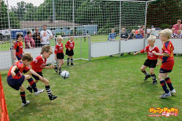 German Football Association Juniors Soccer Day