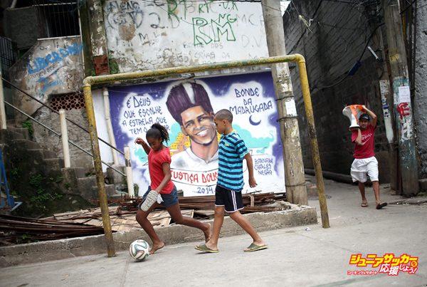ストリートサッカー 個性