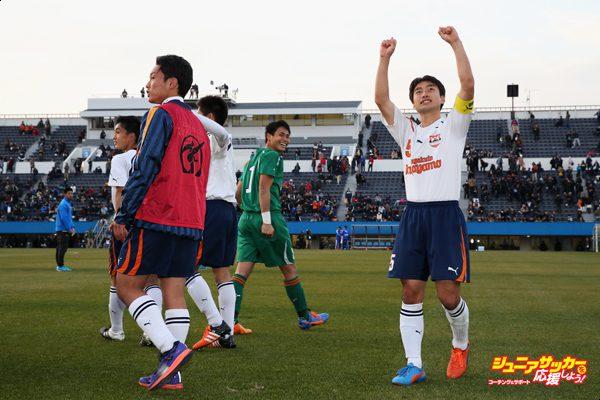 Kokugakuin Kugayama v Maebashi Ikuei - 94th All Japan High School Soccer Tournament Quarter Final