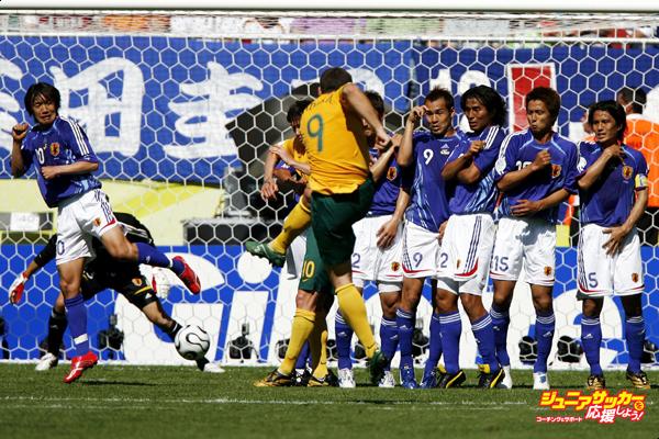 ドイツW杯 日本 オーストラリア