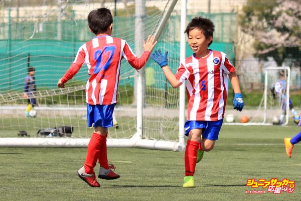 ジュニアサッカートレーニング