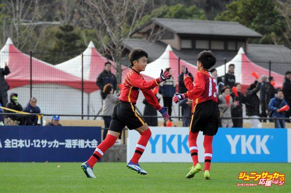 JFA第43回全日本U-12サッカー選手権大会1次ラウンド